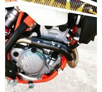 Bulletproof  KTM 250 350 450 EXC exhaust header heat shield