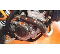 Bulletproof clutch cover guard KTM 250/350 2017-onwardsEXC SXF XC XCW
