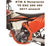 Bulletproof ignition cover guard KTM 250/350 EXCF 2017-onwards